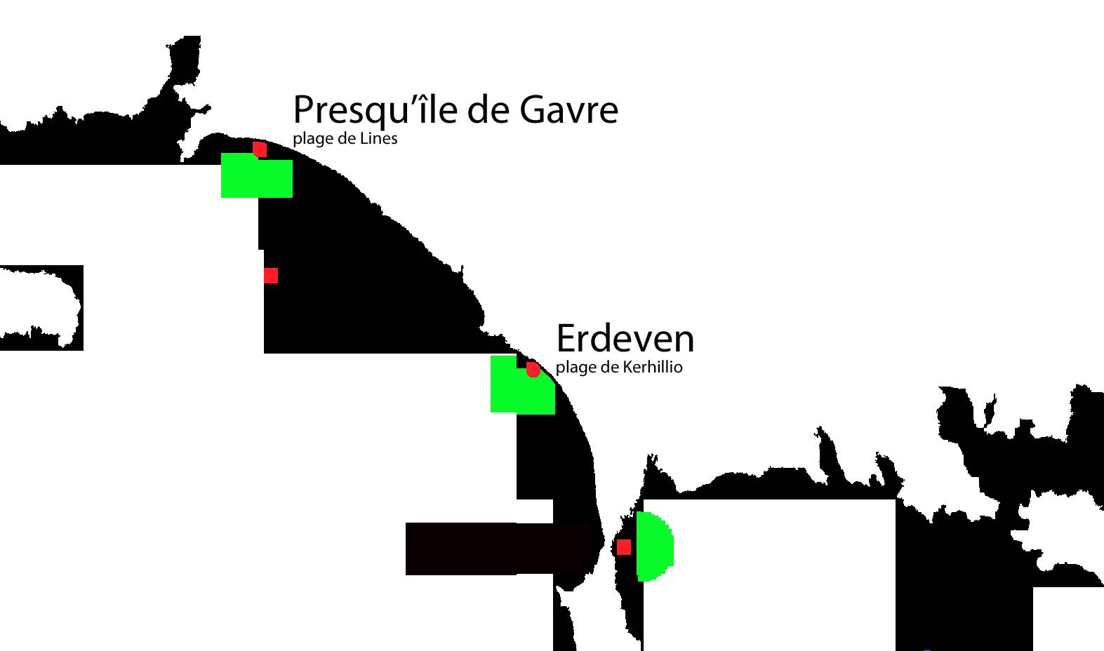 carte des spots