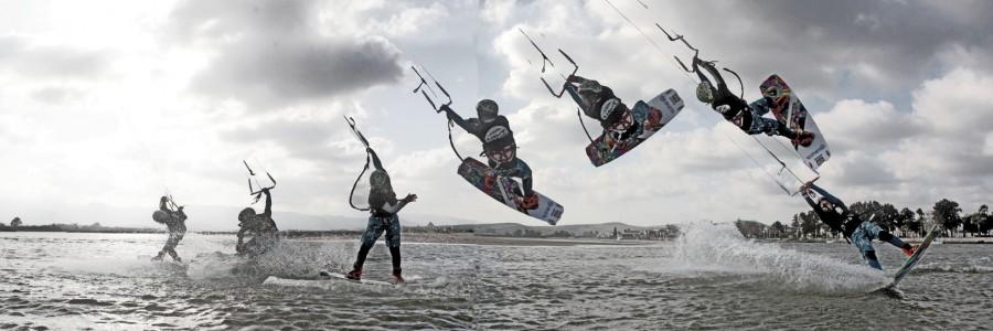 Ecole de kitesurf Morbihan, Erdeven, Gâvres, Quiberon. Stage kitesurf initiation, stage kitesurf perfectionnement avec Etienne Lhote
